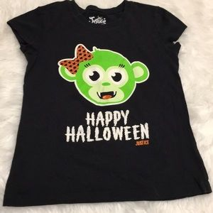 NWOT Justice Halloween Shirt Size 8💕💕